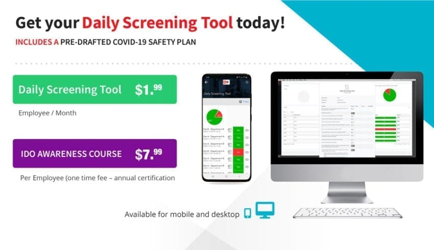 Get Ready Daily Screening Tool